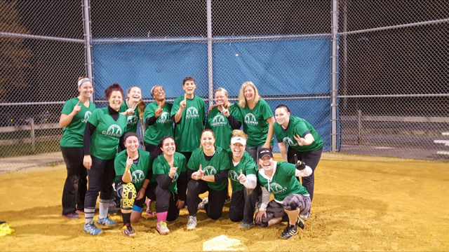 2016 Women's Fall League Champs